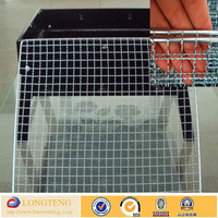Wholesale stainless steel crimped wire mesh for barbecur/bbq grilling net