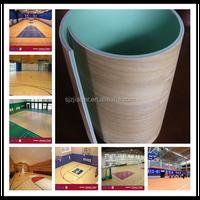 indoor basketball pvc vinyl floor in roll
