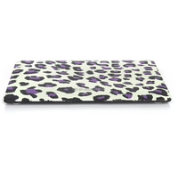 "Pattern Hard Shell Clip Snap-on Case for MacBook Pro 13"" with Retina Display - Fits Model A1425 (Purple Leopard)"