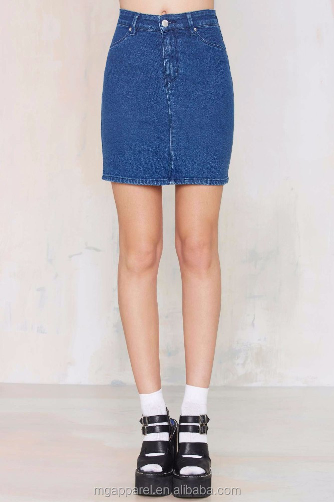 wholesale skirt and blouse fashion denim