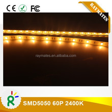 thin yellow led strip 5050 CE RoHS chrismas for outdoors
