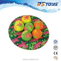 7 IN 1 water game set included 1 flying disc, 6 water bombs