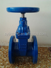 cast iron non rising stem gate valve for industrial pipe