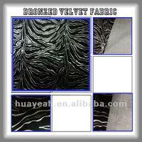 foiled velvet upholstery fabric