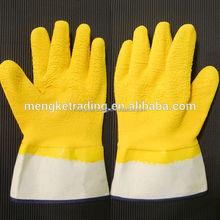 guantes de latex safety cuff