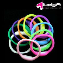 16 assorted color available cheapest silicone watch with customized logo print