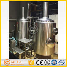 Stainless steel machine to make craft beer for Lager Ale beer making machine