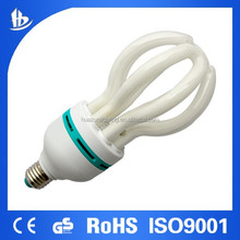 T5 lotus 45w daylight cfl energy saving bulb-PBT cap with green ring