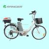 kawasaki electric bike with 36v 12ah lead acid battery CE