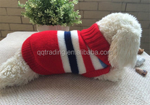New design and cheapest dog sweater ,hot sell in 2015dog clothes drop ship
