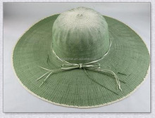 Fashion Design women paper straw beach hat wide brim straw beach hats