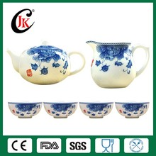 Hot selling ceramic cheap chinese porcelain tea set