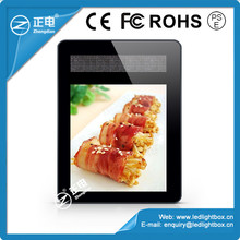 Hottest Products For 2015 Alibaba Plastic Frame Led Light Display Advertising Board Magnet Led Lighting Boxes