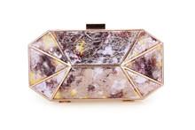 top beauty 2015 metal clutch purse bag shell