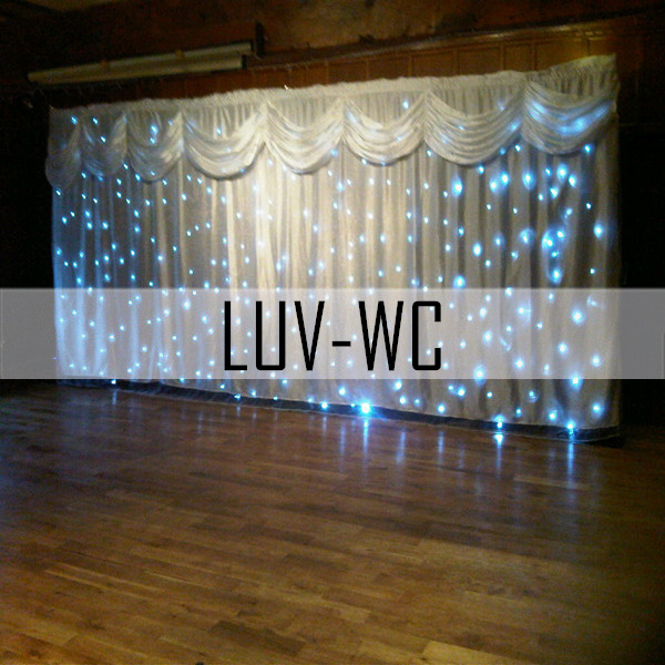 led curtain lighting 3x6m wedding decoration buy high