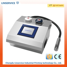 Linservice cable pipe white ink inkjet printer portable code printing machine high speed printer