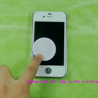 Microfiber stick screen cleaner/sticky cleaner /mobile cleaner