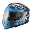 2015 two visor with ECE /DOT HELMET new ABS material double visor full face motorbike helmet JX-FF005