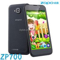 Original ZOPO ZP700 phone MTK6582 Quad Core 1GB 4GB QHD 4.7'' IPS 960*540 8MP 5MP Smartphone