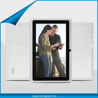 7 inch cheap tablet pc allwinner a13 cortex a8 1.2ghz 512MB/4GB,WIFI,Capacitive Touch Screen