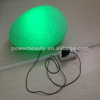 light table lamp/led stone light/stone lighting grey granite rock