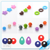 Hot Safe and Health Food Grade Silicone Teething Beads Bulk