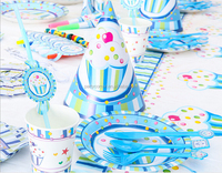 Cheap Boy Birthday Ice Cream Party Theme Decoration For Kids