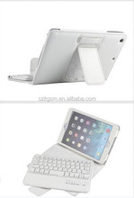 High quality 8'V3.0 wireless bluetooth keyboard leather case for ipad accessories