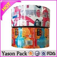 Yason manufacture pvc shrink film for printing shrink sleeves for toy shrink wrap bottles label bottle cap