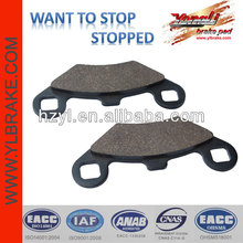 Quality auto spare part brake pad motorcycle