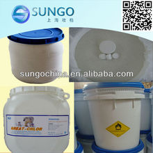 Calcium Hypochlorite(HTH) for water treatment 65%min HTH