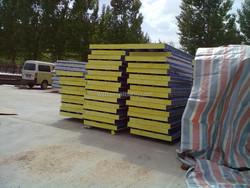 EPS/ROCK WOOL/PU/Mineral wool fire proor roof wall sandwich panels