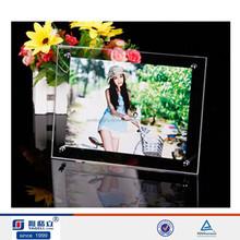 Trade assurance supplier!high grade acrylic car photo frame holder,photo frame acrylic frame