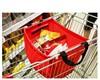 durable grab bag surpermarket shopping cart bag folding bag for shopping cart