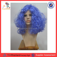 Explosive Head Wig Short Curly Child dummy Show Party Wigs Fancy Crazy Hair for Halloween PGWG-0646