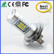 New Technology for car led light h7 px26d ps26s 3528/2835smd 21SMD 800lm foglamp 12v foglight fog auto bulb best price