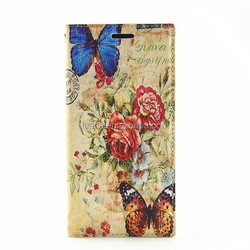 British style leather case for samsung s5/book style flip leather cover case for samsung s6/wallet mobile phone case for samsung