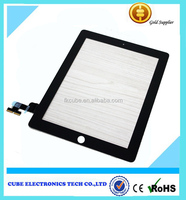 White LCD Touch Screen Digitizer Glass Replacement for iPad 2