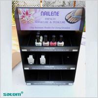 wholesale hot sale acrylic nail polish display standacrylic shower corner shelf