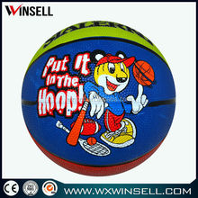 Best seller Size 7 rubber material basketball