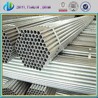 standard steel pipe/ schedule 40 steel piep for greenhouse framework / reasonable galvanized iron pipe price