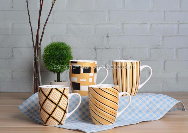 En gros en vrac pas cher forme personnalis e autocollant imprim en c ramique caf tasse tasse - Vaisselle en gros pas cher pour particulier ...