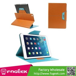 Fast Shipping ROCK Excel Series Leather Smart Case with T Shape SExcel Series Leather Smart Case with T Shape Stand for iPad Air