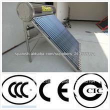 Calentador de agua caliente solar compacto