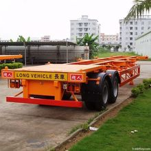 L1 OEM L1 three axle stake/ low bed/light semi-trailer for cargo transport on sale