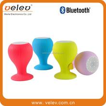 2015 hot sale waterproof sucker professional mini speaker wireless bluetooth speaker