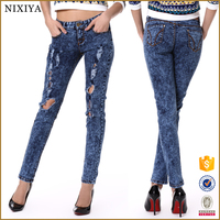 2015 women Jeans Wholesale Price, Ladies Jeans Top Design