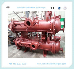 Copper Material Tube Shell and Tube Heat Exchanger for Chiller /Marine Engine