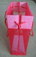 Customer Tea Gift Organza Tote Bags With Handle