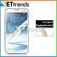 High Clarity sensitive touch matte screen protector for Samsung Note2